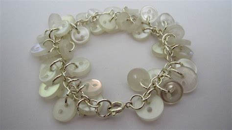 Jewelry Craft Button Bracelet  Frugal York County
