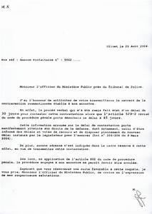 Lettre Officier Ministere Public Contestation : modele lettre a l 39 officier du ministere public ~ Medecine-chirurgie-esthetiques.com Avis de Voitures