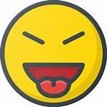 Emoji Evil Tongue Emote Stretch Laughing Icon