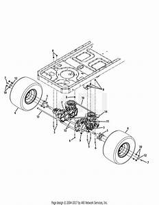 Troy Bilt 17bf2acp011 Mustang Xp  2009  Parts Diagram For