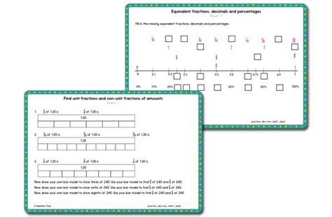 decimals  fractions  hamilton trust