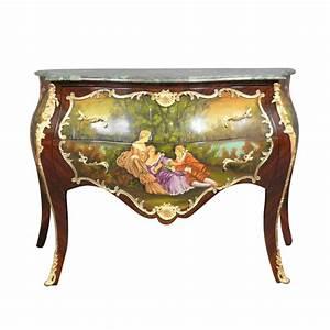 Meuble Style Louis Xv : commode louis xv peinte meubles de style louis xv ~ Dallasstarsshop.com Idées de Décoration