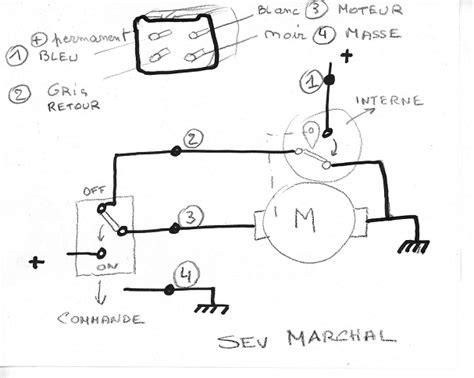 mehari club de france afficher le sujet branchement moteur essuie glace
