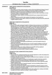 competitive intelligence resume samples velvet jobs With competitive resume sample