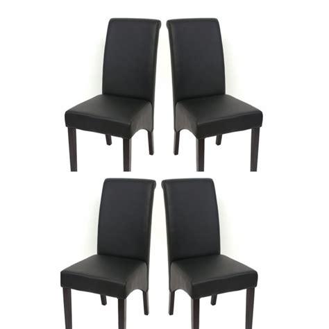 chaises noir chaise de salle a manger noir