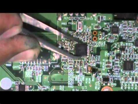 How Replace The Charger Laptop Motherboard Youtube