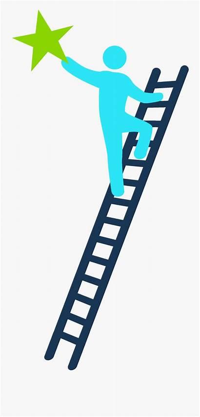 Ladder Success Climbing Transparent Clipart Clipartkey
