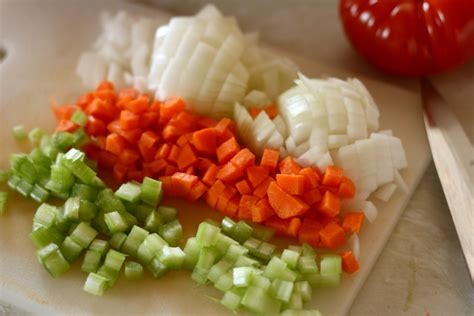 mirepoix cuisine inspired nutmeg pantry cooking mirepoix