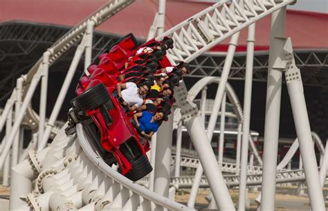 Read more below, but in the meantime formula rossa is a launched roller coaster located at ferrari world in abu dhabi, united arab emirates. Riding the 'world's fastest roller coaster' at Ferrari World | Driving