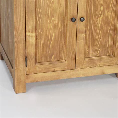 meuble cuisine bois et zinc meuble de cuisine en bois et plateau zinc cagne made