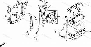 Honda Motorcycle 1982 Oem Parts Diagram For Battery