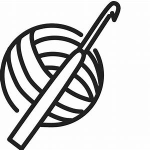 Crochet Hook and Yarn Rubber Stamp | Sewing Stamps ...