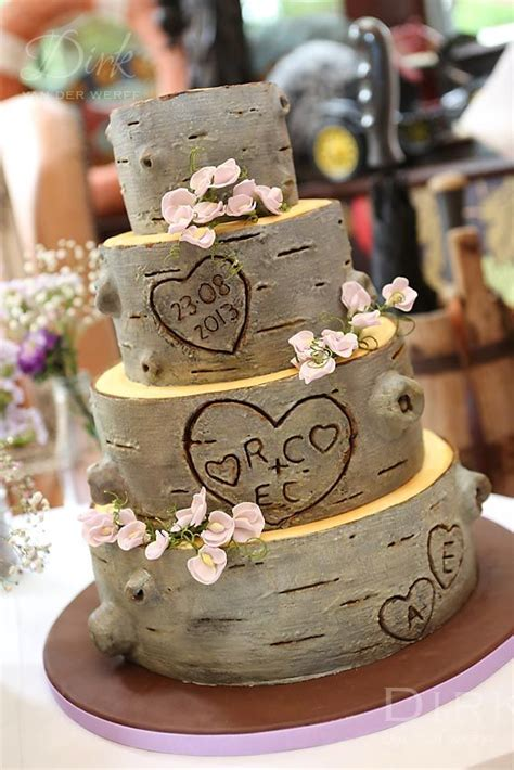 25 Best Ideas About Tree Wedding Cakes On Pinterest