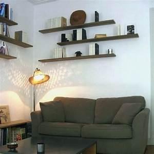 étagère Murale Salon : etagere murale salon 6 id es de d coration int rieure french decor ~ Farleysfitness.com Idées de Décoration