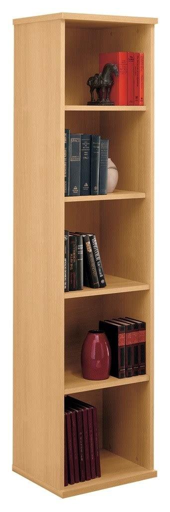 18 Inch Bookcase by Series C Light Oak 18 Inch 5 Shelf Bookcase From Bush