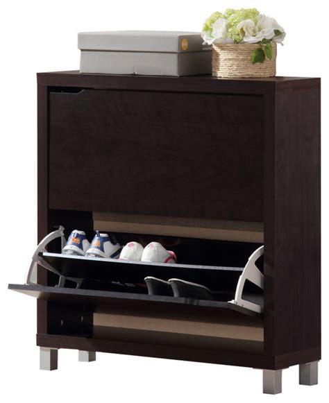 simms dark brown modern shoe cabinet simms dark brown shoe cabinet modern shoe storage
