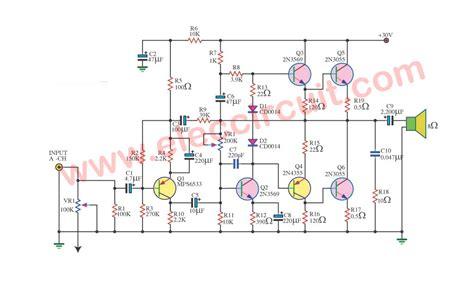 ahuja 250w lifier circuit diagram circuit diagram
