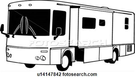 motorhome clipart black and white motorhome cliparts