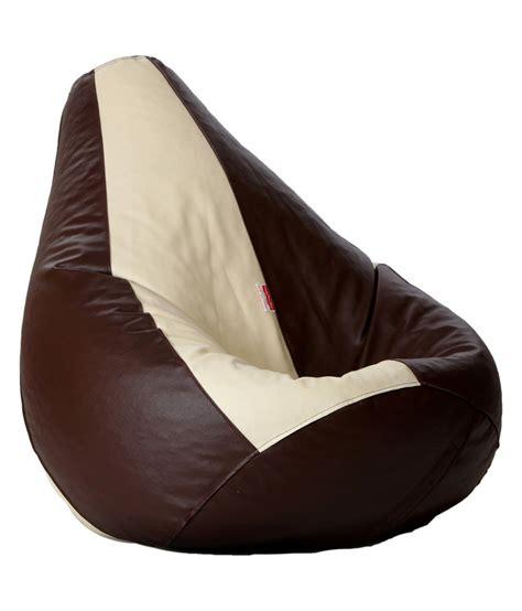 biggie bean bag xl king size brown filled buy