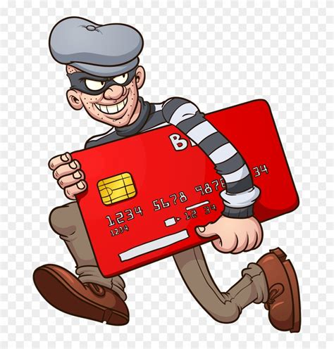 According to the bureau of justice statistics, 13. How Do You Plan On Taking Care Of Your Credit Card - Credit Card Theft Cartoon, HD Png Download ...