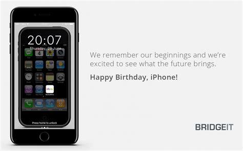 iphone the years apple s iphone 10 year anniversary what it means to bridgeit