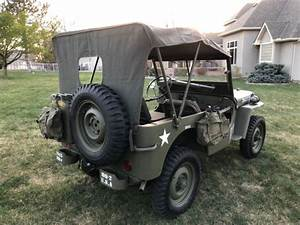 1945 Willys Mb Military Jeep  Rebuilt Engine And