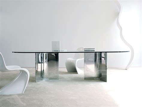 Tavoli cristallo design tavolo allungabile rotondo Epierre