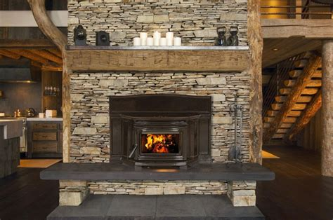 Kamin Mit Holz by Wood Fireplace Inserts Edwards And Sons Hearth And Home