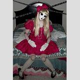 Homemade Broken Doll Costume | 427 x 642 jpeg 43kB