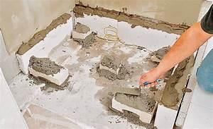 Acryl Duschwanne Einbauen : badewanne mit trger einbauen das beste aus wohndesign ~ Michelbontemps.com Haus und Dekorationen
