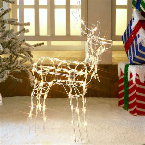 christmas deer yard decor light  xmas decoration indoor