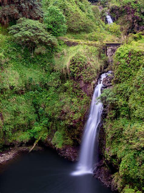 wailua iki falls jaden nyberg photography