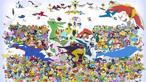Epic Anime Girl Wallpaper All Pokemon Hd Wallpaper Pixelstalk Net