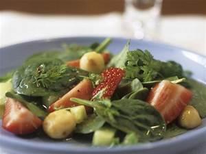 Salat Mit Spinat : erdbeer spinat salat mit macadamian ssen rezept eat smarter ~ Orissabook.com Haus und Dekorationen