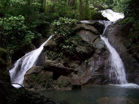 air terjun fulica surga kecil  manokwari backpacker