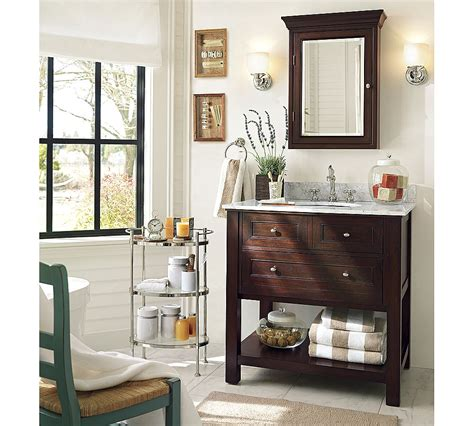 Pottery Barn Bathroom by Pottery Barn Classic Sink Console Copycatchic