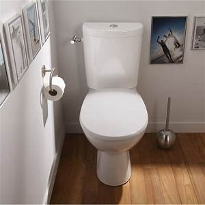pack wc a poser sortie horizontale sensea remix leroy With porte d entrée pvc avec robinet mural lavabo salle de bain