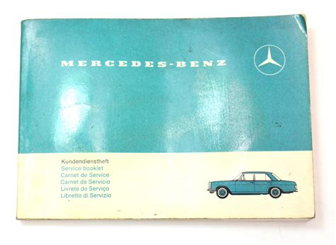 original mercedes operating instructions owners