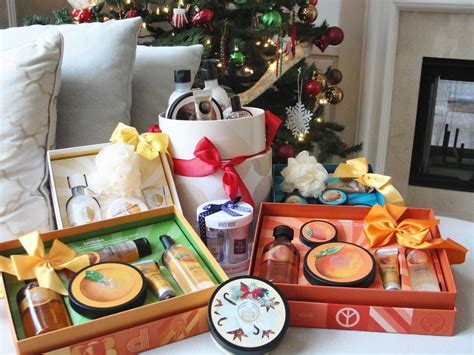 christmas gifts   body shop