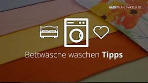 Bettwäsche Waschen Programm : bettw sche waschen die 7 besten tipps nachtmanufaktur ~ Frokenaadalensverden.com Haus und Dekorationen