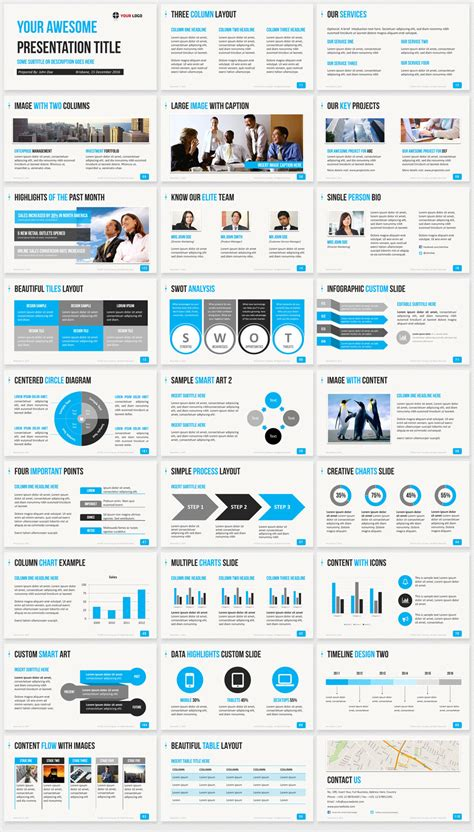 professional  templates   powerpoint