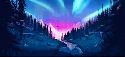 4k River Forest Space Computer Auroral Wallpapers
