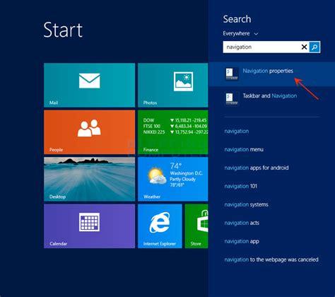windows top bar missing missing navigation tab in toolbar properties microsoft