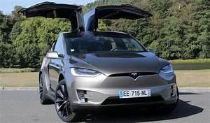 Tesla Porte Papillon : essai vid o tesla model x navette sp ciale ~ Nature-et-papiers.com Idées de Décoration
