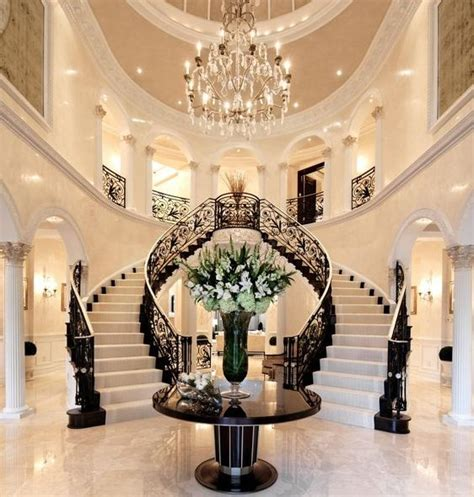 excellent ideas  decorating entrance staircase  luxury touch