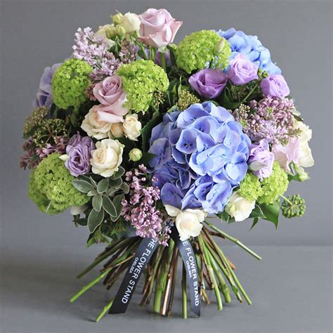hydrangea bouquets hydrangea guelder rose luxury bouquet same day flowers london