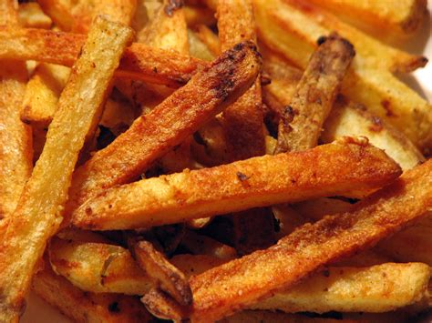 how to make crispy fries crispy baked french fries recipe dishmaps