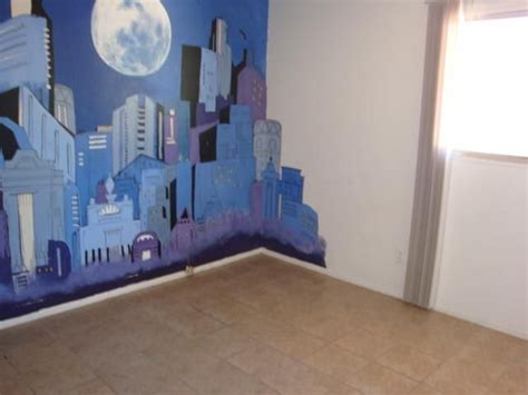 paint cityscape wall mural city skyline