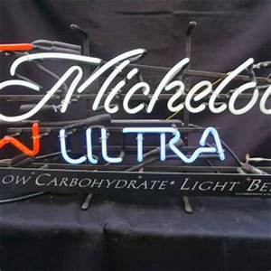 Michelob Ultra Neon Sign