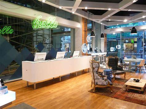 telecom store  gascoigne associates designworks